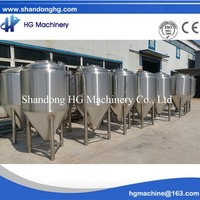 200L Jacketed Beer Fermenting Tank Equipment