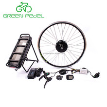 Greenpedel top quality 36v 250w 350w europe standard battery powered electric bicycle conversion kit