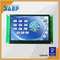 "320 x RGB x 240 tft lcd display module built in all viewing angle 3.5"" industrial display screen with RS232 / TTL interface"