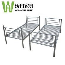 Metal Material and Modern Appearance industrial metal single bed