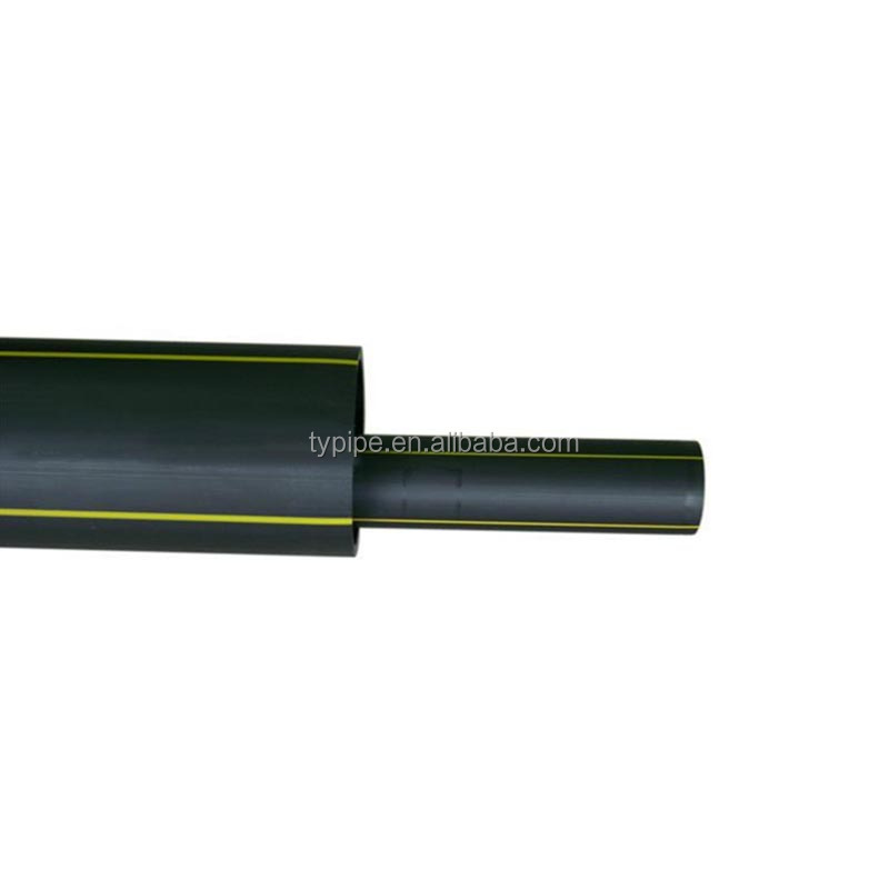 underground gas pipe risers and black polyethylene pipe and plastic gas pipe installation