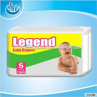 100% Quanzhou Diaper Manufacturer Africa market hot sell Cheap Disposable Sleepy baby diaper