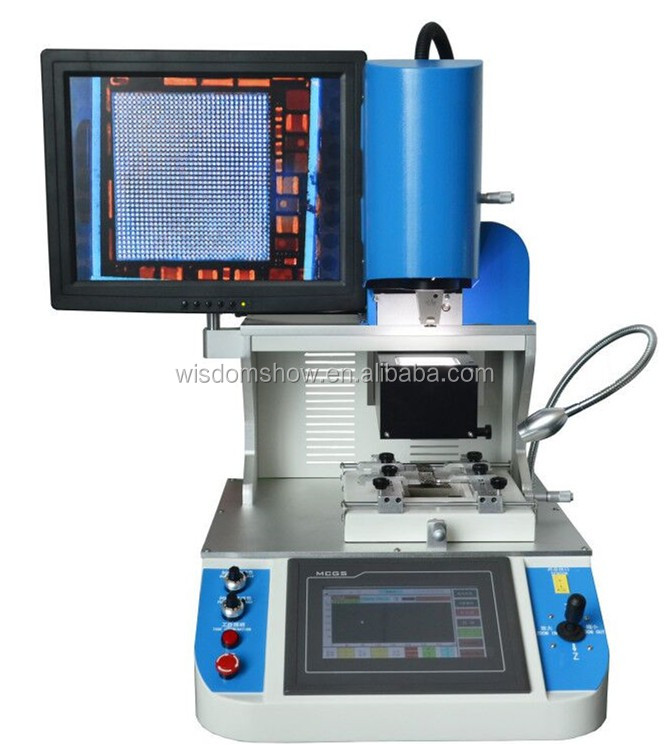 Factory best sale play station / cell phone / Xbox PCB repairing station BGA chipset replace machine WDS-700