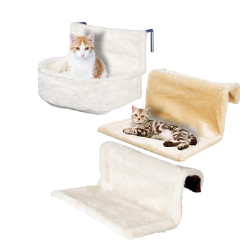 Super Soft Radiator Window Cat Hammock Bed Cat Toy Furniture Snuggle Sack Plush Toy Kuschelsack Cat Heating Lounger