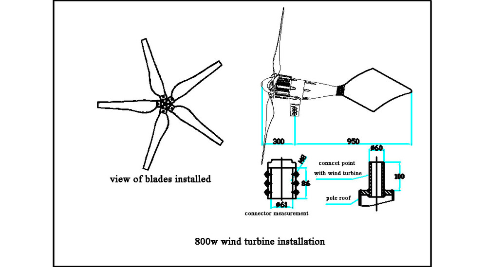 wind power generator wind turbine windmill wind energy