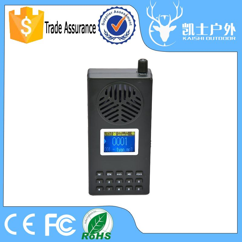 Good quality eagle decoy , bird calling machine , hunting product with add volume konb and power-off memory function