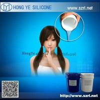 Medical Grade Silicone Rubber for Love Dolls/ Flexible Sex Dolls Making