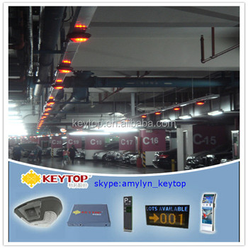 IP Camera integrated video vehicle parking guidance system and car location system