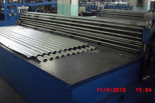 Aluminium Galvanized Thin Board Transverse Corrugated Roof Sheet Making Machine