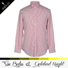 High Quality New Fashion pink color latest shirt designs for men 2013