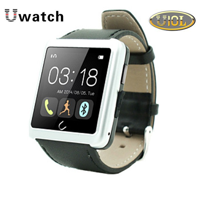 china <strong>u10</strong> smart bluetoth watch 2015 with 1.54'' touch display