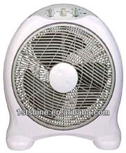16 inch electric cheap box fan with timer with CE high quality