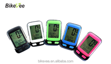 BKV-3500H Wireless Bicycle Bike Cycle LCD fashionable Computer Speedometer Odometer Heart Rate Monitor