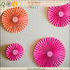Kids Birthday Party decoration fushia Paper Flower Backdrop