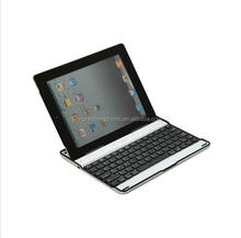 Ultra-Thin Wireless Aluminum Built-in Speaker Bluetooth Keyboard Case For ipad 2/3/4