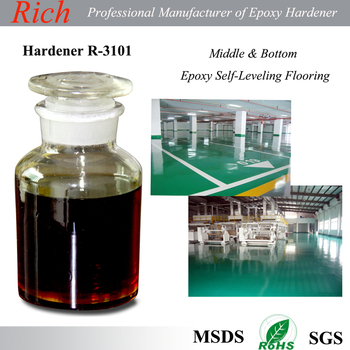 Fast Curing Epoxy resin Hardener for Epoxy Flooring Primer Coating R-3101