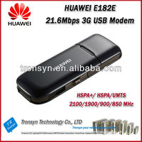 Cheapest Original Unlock HSPA+ 21.6Mbps HUAWEI E182E 3g sd card modem And 3G USB Dongle