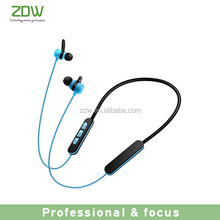 2017 ZDW colorful hot selling magnet v4.2 bluetooth headphones outdoor wireless sport earphone