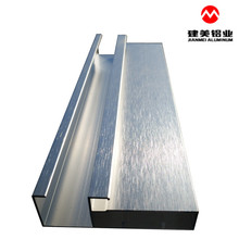 Adjustable Good Doors Aluminum Extrusion Profiles 6061 For Kitchen Cabinet Door