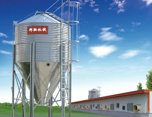 BC Series Feed Silo For Poultry House
