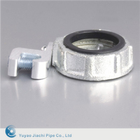 China Manufacturer & Factory & Supplier 32mm Zinc alloy conduit threaded steel bushing