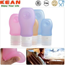 Food Grade Silicone Approved By air Owl Shape Mini Shampoo Bottle