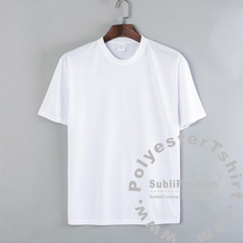 Sublimation Blank White Polyester T-shirt Free Shipping to Australia and USA
