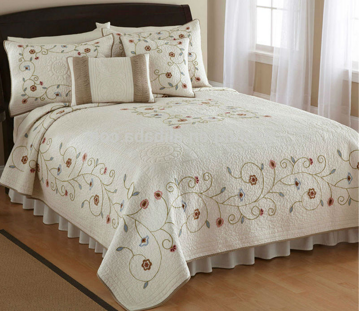 Classic Printed 100% Cotton Coverlet Quilt
