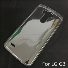 Soft TPU Silicon Transparent Clear Case for LG G3/F400