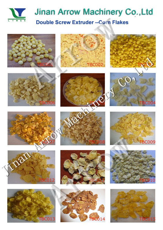 2018 Hot Sale Corn flakes and Breakfast Cereals Production Machine