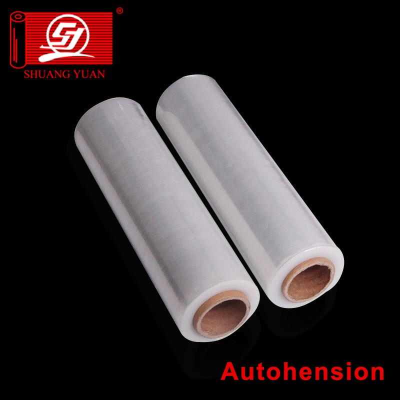 high quality mini hand wraping packing film 12my handy wrapping film