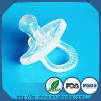 New product Promotion food pacifier feeder for baby,medical grade silicone nipples