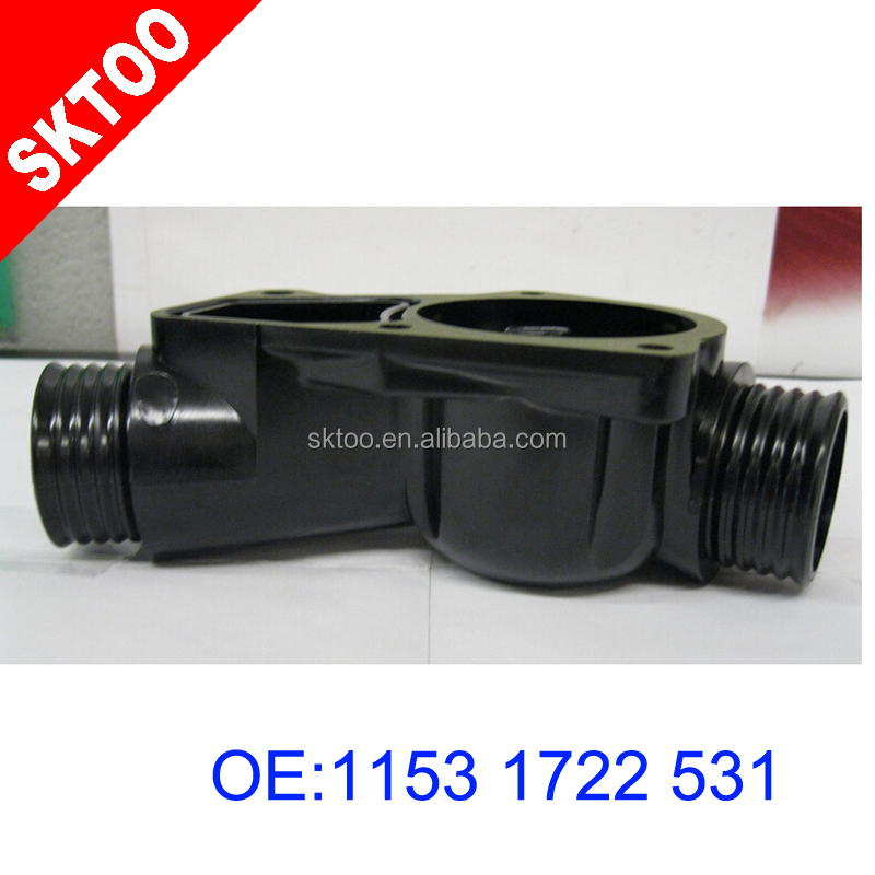 Bmw Z3 Coupe Production Numbers: 11531722531plastic Coolant Flange /thermostat Housing For