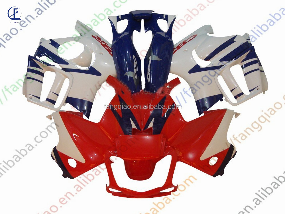 Injection Fairings Panel CBR600 F3 1997 1998 Red White Blue ABS Plastic Fairing Kit For Honde