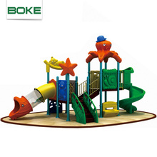 Factory Priced kids plastic playground slide material indoor plastic slide buckles