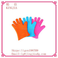 kitchen silicone glove,silicone massage glove,long oven glove