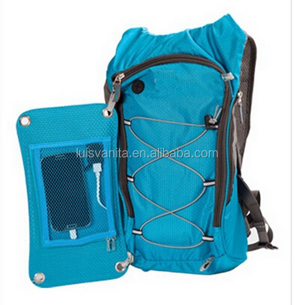 Functional Chargeable Outdoor Solar Water Bag