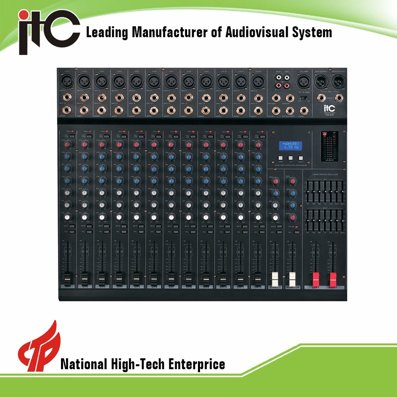 ITC TS-12P Series DSP Effector Digital Sound Mixer with 21 Effect Models