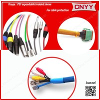 60mm pet expandable braided sleeve for cable protection