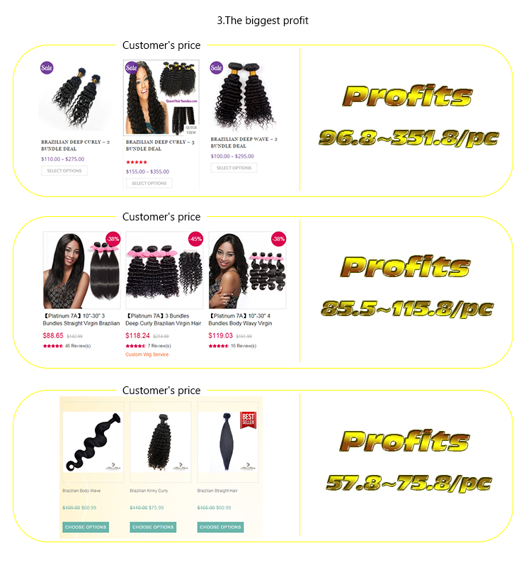 Perfect Weavon 100% human remy virgin hair Unprocessed Virgin Malaysian Hair, cheap different types of curly weave hair
