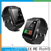 Bluetooth Smartwatch U8 U Smart Watch for iPhone 6/puls/5S Android S4/Note 3 HTC Android Phone