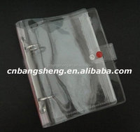 2014 China Supply Transparent School PVC clear vinyl pocket cover