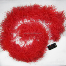 Wholesale cheap 5ply Fluffy Ostrich Feather Boas