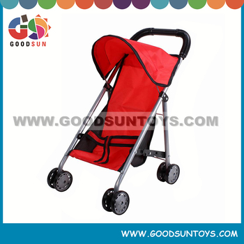 Fashionable doll prams toy baby stroller bicycle for kids