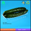 hot sale disposable transparent PET fruit tray/Disposable Plastic Fruit Tray /food packaging tray