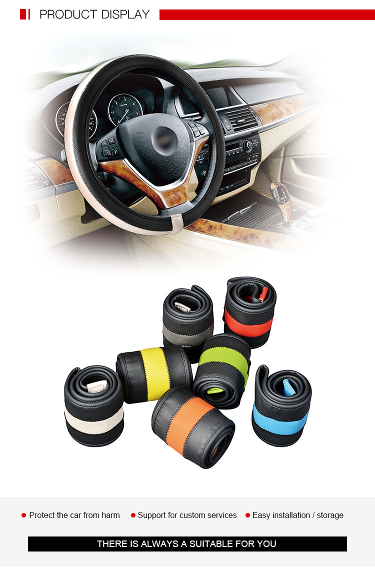 Fashionable High Quality Shrink Steering Wheel Cover