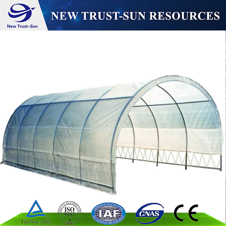 Cheap Chinese tunnel plastic film agriculture greenhouse
