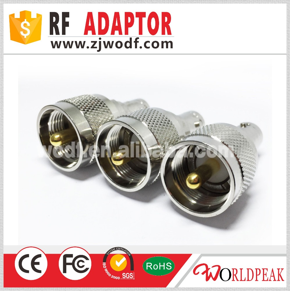 Good Quality plug BNC jack adapter to UHF Male adaptor