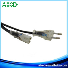 Super quality great material professional supplier Extension Ac Power Cord With Piggy Back Plug