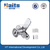 New model zinc alloy chrome plated external drawer lock with factory price